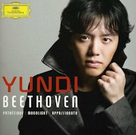 cover of Yundi's Beethoven CD