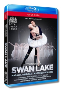 Osipova and Golding in Swan Lake